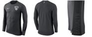 Nike Men's Brooklyn Nets Hyperlite Shooter Long Sleeve T-Shirt