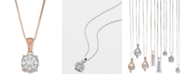 Macy's Diamond Pendant Necklace (1/3 ct. t.w.) in 14k Gold, White Gold or Rose Gold