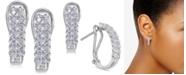 Macy's Diamond Hoop Earrings (1/2 ct. t.w.)