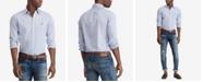 Polo Ralph Lauren Men's Slim Fit Patterned Poplin Shirt