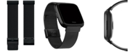 Fitbit Versa™ Black Stainless Steel Mesh Accessory Band