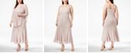 R & M Richards R&M Richards Plus Size Beaded V-Neck Dress and Jacket