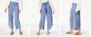 American Rag Juniors' Printed Flyaway Pants, Created for Macy's
