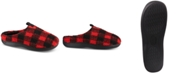 43ac81f7fd44 Totes Isotoner Men s Berber Owen Plaid Hoodback Slippers With Memory ...