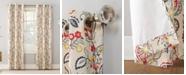 "Sun Zero Jorah 40"" x 63"" Thermal Insulated Botanical Print Curtain"