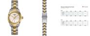 Tissot Women's Swiss T-Classic PR 100 Two-Tone Stainless Steel Bracelet Watch 25mm