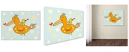 Trademark Global Carla Martell 'Bird and Baby' Canvas Art Print Collection
