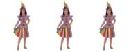 BuySeasons Unicorn Little and Big Girls Costume