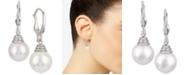 Macy's Windsor Cultured Freshwater Pearl (11mm) Drop Earrings in Sterling Silver