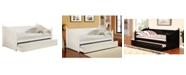 Furniture of America Emerson Twin Daybed with Trundle