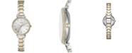Fossil Women's Kinsey Two-Tone Stainless Steel Bracelet Watch 28mm