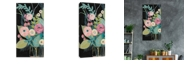 """Artissimo Designs Soft Spring Bouquet Hand Embellished Canvas Art - 18"""" W x 36"""" H x 1.5"""" D"""