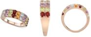 Macy's Multi-Gemstone (2-1/6 ct. t.w.) Ring in 14k Rose Gold