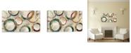 "Artissimo Designs Rings Galore Printed Canvas Art - 45"" W x 25"" H x 1.5"" D"