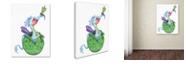 "Trademark Global Jennifer Nilsson Little Boy Blue - Dragon Canvas Art - 35"" x 47"" x 2"""