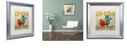 "Trademark Global Craig Snodgrass 'Take That Pinko' Matted Framed Art, 16"" x 16"""