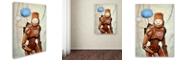 """Trademark Global Craig Snodgrass 'Humans Yuck!' Canvas Art, 24"""" x 32"""""""
