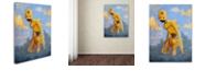 "Trademark Global Craig Snodgrass 'In The Clouds' Canvas Art, 14"" x 19"""