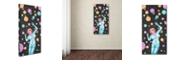 "Trademark Global Craig Snodgrass 'Cora-Cosmos' Canvas Art, 10"" x 19"""