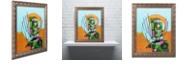 "Trademark Global Craig Snodgrass 'Segmented Man II' Ornate Framed Art, 11"" x 14"""