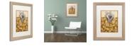 """Trademark Global Rachel Paxton 'Salt Meadow Shell' Matted Framed Art, 16"""" x 20"""""""