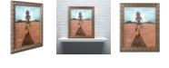 """Trademark Global Craig Snodgrass 'A Long Walk' Ornate Framed Art, 16"""" x 20"""""""