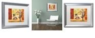 """Trademark Global Rachel Paxton 'Garden Party' Matted Framed Art, 16"""" x 20"""""""