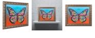 "Trademark Global Dean Russo 'Butterfly' Ornate Framed Art, 16"" x 20"""