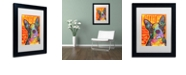 "Trademark Global Dean Russo 'Boston Luv' Matted Framed Art, 11"" x 14"""