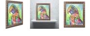 "Trademark Global Dean Russo 'Macaw' Ornate Framed Art, 11"" x 14"""
