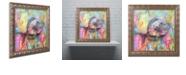 "Trademark Global Dean Russo 'Fishy Spray' Ornate Framed Art, 16"" x 16"""