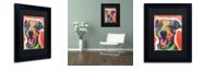 """Trademark Global Dean Russo 'Cheer' Matted Framed Art, 11"""" x 14"""""""