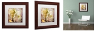"Trademark Global Color Bakery 'Wine Country V' Matted Framed Art, 11"" x 11"""