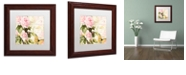 """Trademark Global Color Bakery 'Florabella Ii' Matted Framed Art, 11"""" x 11"""""""