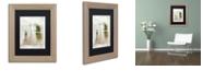 "Trademark Global Color Bakery 'Summer Me Iv' Matted Framed Art, 11"" x 14"""
