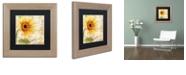 "Trademark Global Color Bakery 'Ete I' Matted Framed Art, 11"" x 11"""