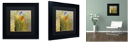 "Trademark Global Color Bakery 'Emily I' Matted Framed Art, 11"" x 11"""