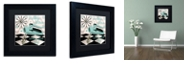 "Trademark Global Color Bakery 'Fifties Kitchen Iii' Matted Framed Art, 11"" x 11"""