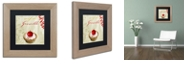 "Trademark Global Color Bakery 'Tartes Francais, Currant' Matted Framed Art, 11"" x 11"""