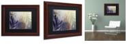 """Trademark Global Color Bakery 'Garden Waltz Ii' Matted Framed Art, 11"""" x 14"""""""