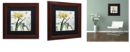 "Trademark Global Color Bakery 'Softly Iv' Matted Framed Art, 11"" x 11"""