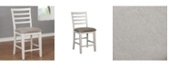 Furniture of America Mandelin Slatted Back Dining Chair (Set of 2)