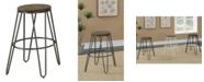 Furniture Mandy Farmhouse Bar Stool (Set of 2)