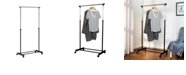 Honey Can Do Height-Adjustable Clothes and Shoe Rack