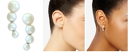 EFFY Collection EFFY® Cultured Freshwater Pearl (3mm-5-1/2mm) Ear Climbers in Sterling Silver
