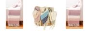 "THRO Metilda Stripe Mohair Decorative 50"" x 60"""