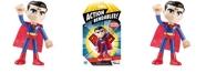 """DC Comics NJ Croce ACTION BENDALBES 4"""" Superman Action Figure"""