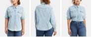 Levi's Trendy Plus Size  Western Shirt