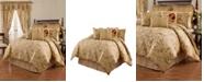Keeco Imperial Dress 4-piece Queen Comforter Set