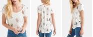 Lucky Brand Butterfly-Print T-Shirt